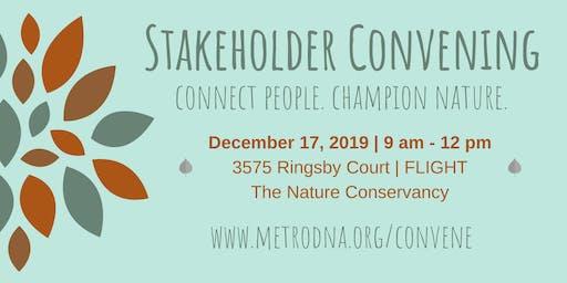 Metro DNA Stakeholder Convening - December 17, 2019