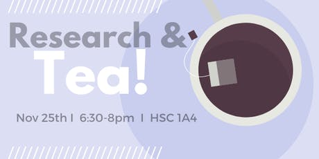 McMaster Research & Tea tickets