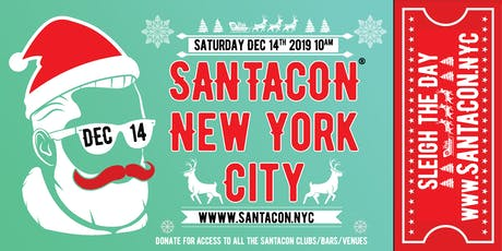 Santacon 2019 : New York City ✦OFFICIAL✦ tickets