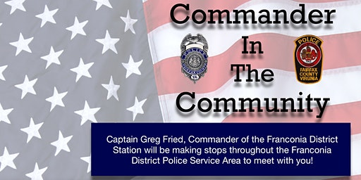 Commander In The Community - Lorton