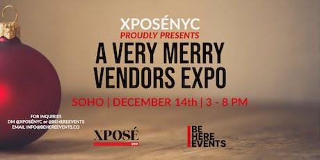 A Very Merry Vendor's Expo tickets