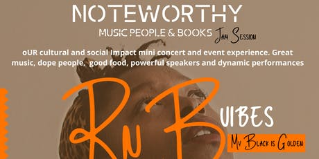 NoteWorthy Music People & Books Mini Concert Experience:My Black Is Golden tickets