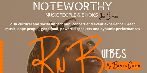 NoteWorthy Music People & Books Mini Concert Experience:My Black Is Golden