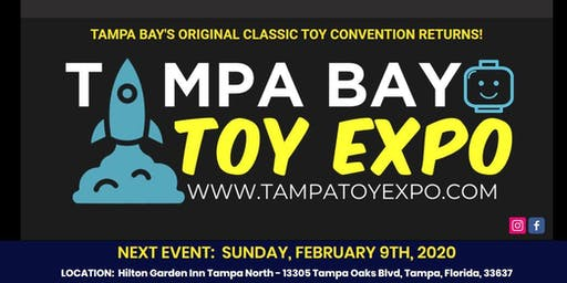 Tampa Bay Toy Expo - Vendor Tables