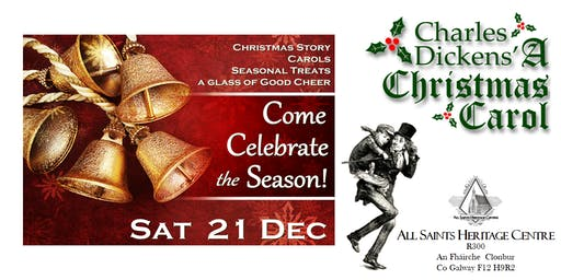 Dickens'  A Christmas Carol - An Evening of Story and Song