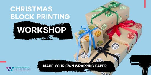 Christmas Block Printing: Make your own wrapping paper