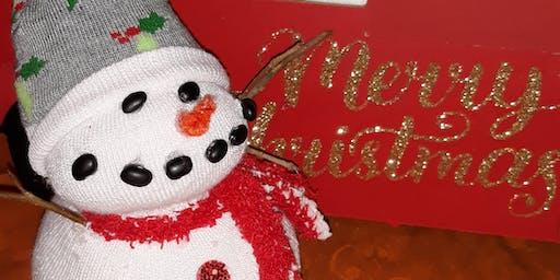 CC Crafters Club - Build A Snowman