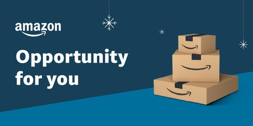 Amazon Holiday Hiring Kick-off