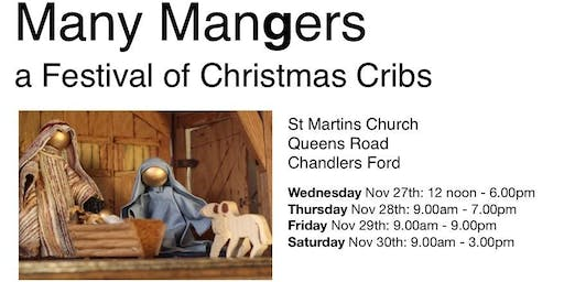 Many Mangers - A Festival of Christmas Cribs