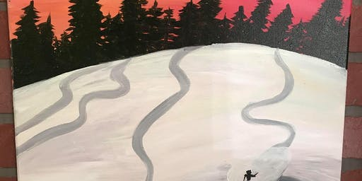 Skiers Painting Class