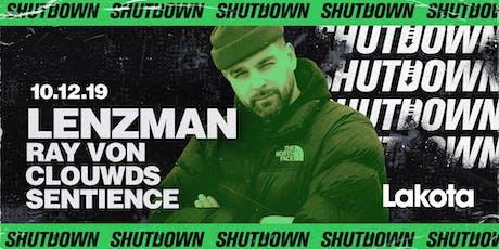 Shutdown: Lenzman tickets