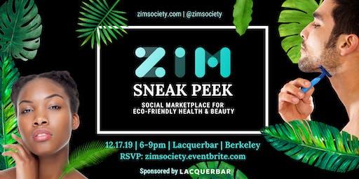 Sneak Peek: ZiM, a social marketplace for health & beauty launching in 2020
