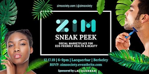 Sneak Peek: ZiM - social marketplace for eco-friendly health & beauty