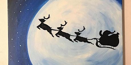 Santa's Sleigh Painting Class tickets