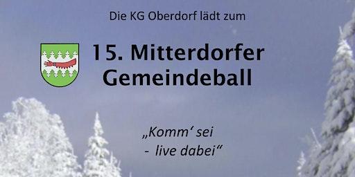 Mitterdorfer Gemeindeball 2020