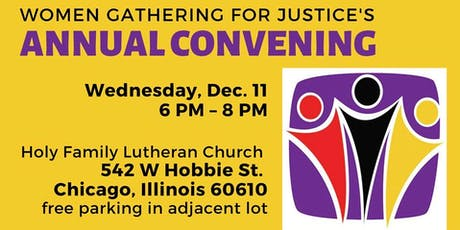 Women Gathering for Justice Annual Convening and Holiday Party tickets