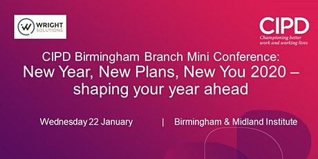 Branch Mini Conference: New Year, New Plans, New You 2020 – shaping your year ahead tickets