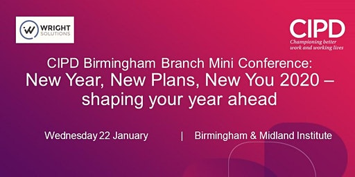Branch Mini Conference: New Year, New Plans, New You 2020 – shaping your year ahead