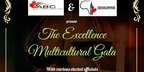 Excellence Multicultural Gala Multiculturel d'Excellence - 07/12/2019  tickets