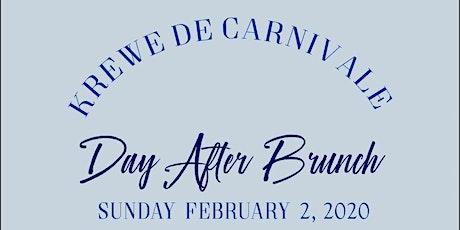 Krewe de Carnivale Day After Brunch tickets