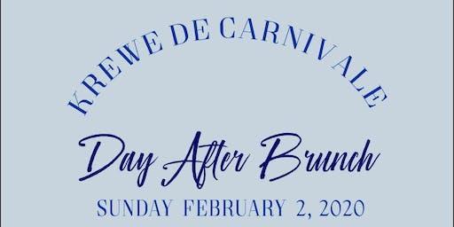 Krewe de Carnivale Day After Brunch