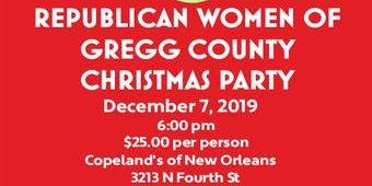 REPUBLICAN WOMEN OF GREGG COUNTY 3RD ANNUAL CHRISTMAS PARTY