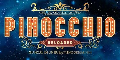 Teatro Arcimboldi. Pinocchio. Offerta speciale. Data 23/10. Prezzo 18 euro.