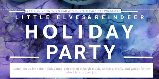 Little Elves and Reindeer: Children's Holiday Party & Photoshoot