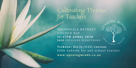 Cultivating Presence for Teachers tickets