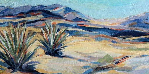 Capturing Joshua Tree Landscapes with Acrylics Spring 2020