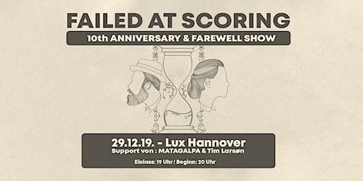 Failed at Scoring /w MATAGALPA & Tim Larsøn