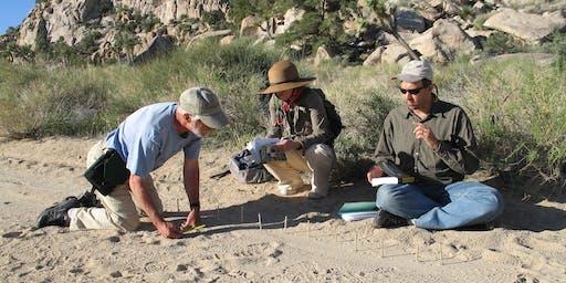 Mammal Tracking in Joshua Tree National Park Spring 2020