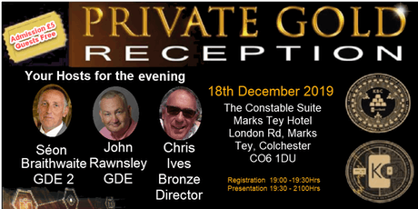 Private Gold Reception - (PGR ) tickets