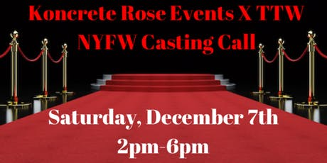 NYFW Model Casting Call tickets
