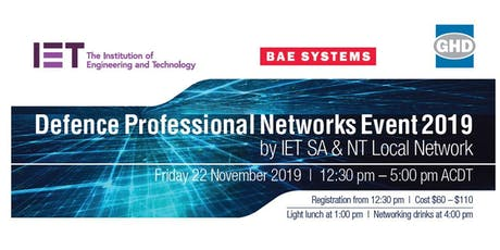 Defence Professional Networks Event 2019 tickets