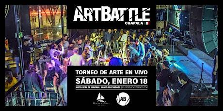 Art Battle Chapala - 18 de enero, 2020 entradas