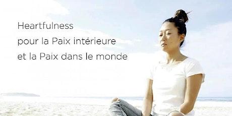 Relaxation et Méditation Heartfulness billets