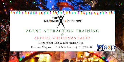 The Maximum Experience Training And Christmas Party