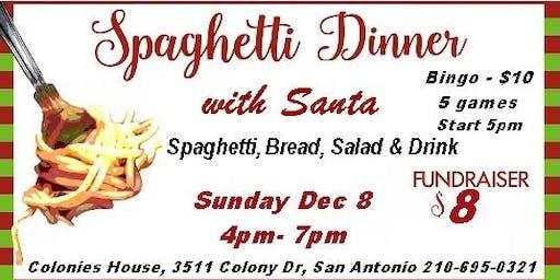 Spaghetti Dinner with Santa