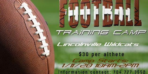 Lincolnville Football Training Camp