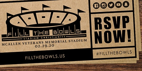 Fill the Bowls tickets