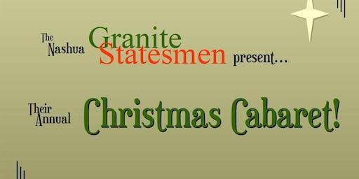 2019 Christmas Cabaret - Matinee