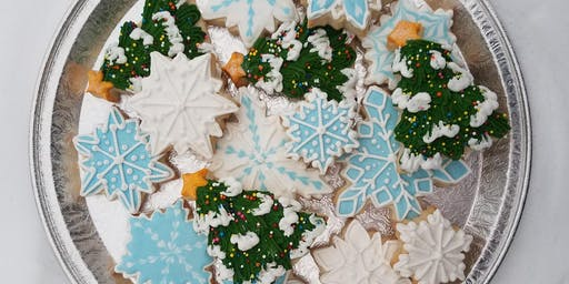 Christmas Cookie Class! Drink Included!