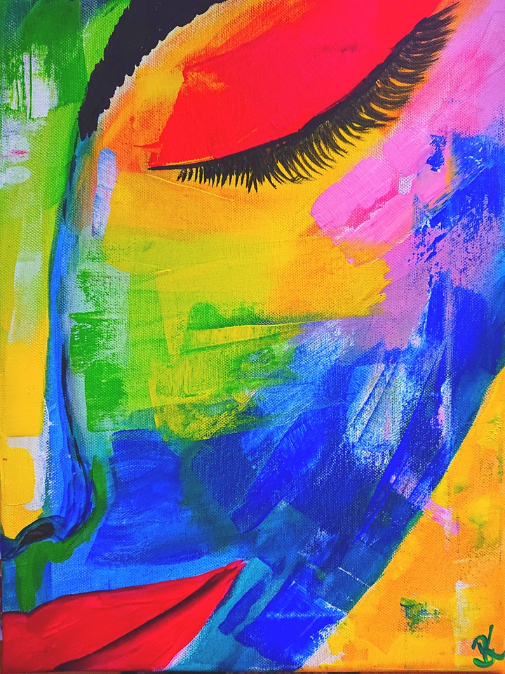 "Sweets & Paint ""Abstract Woman"": Bild"