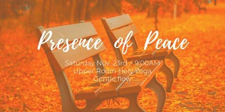 Holy Yoga Gentle Flow tickets
