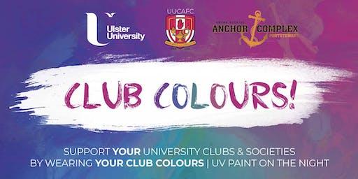 Club Colours - UUCAFC Fundraiser