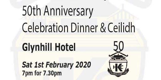 Kelburne Hockey Club 50th Birthday Celebration Ceilidh Dinner