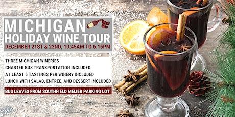 Michigan Holiday Wine Tour tickets