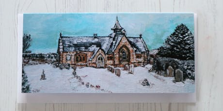 Acrylic Family Winter Wonderland Painting Workshop tickets