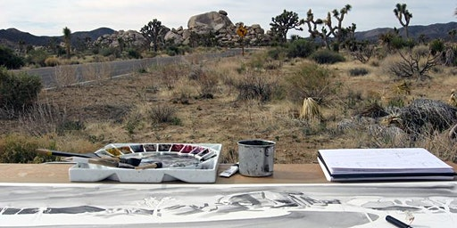 Watercolor Field Painting: Exploring a Sense of Place Spring 2020